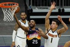 NBA季后赛G2太阳vs掘金:太阳有机会再次升起