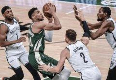 NBA雄鹿对篮网抢七大战,谁主沉浮